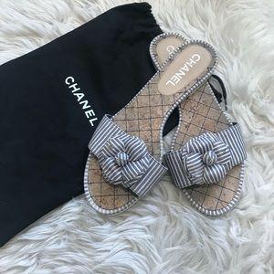 Chanel camila slide sandals